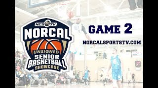 Game 2 - NorCal Unsigned Senior Showcase Boys Basketball LIVE 5/12/18 thumbnail