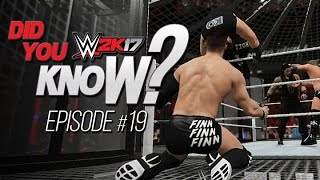 WWE 2K17 Did You Know?: Elimination Chamber Dives, Weapon Moves & More! (Episode 19)