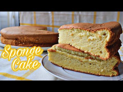 vanilla-sponge-cake-recipe- -cotton-soft-sponge-cake