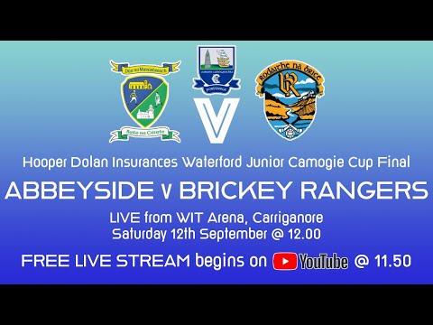 Abbeyside v Brickey Rangers - Waterford Junior Camogie Cup Final 2020