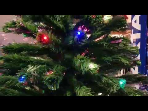 Albero Di Natale Youtube.Alberi Di Natale A Fibre Ottiche Youtube