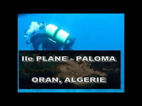 1 - EXPLORATION SCIENTIFIQUE DES GROTTES SOUS MARINES D'ORAN -ile Plane ou PALOMA - وهران 2016