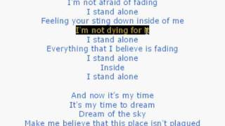 I Stand Alone - Godsmack (with lyrics)