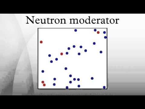 Neutron moderator