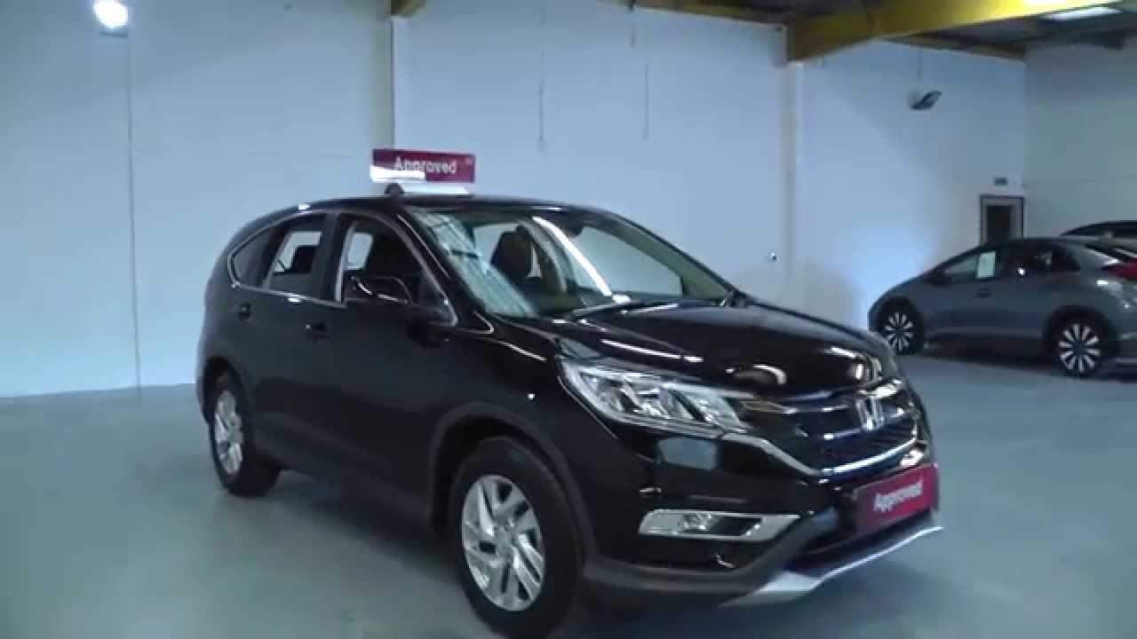 2015 Honda CRV 16 SE Diesel in black video walkaround  YouTube
