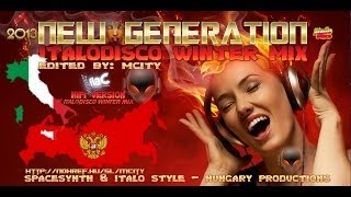NEW GENERATION ITALODISCO WINTER MIX BY MCITY 2O13