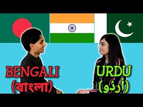 Similarities Between Bengali and Urdu