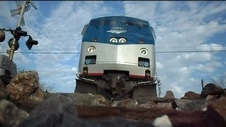 Amtrak Train Runs Over My Camera Twice In Both Directions