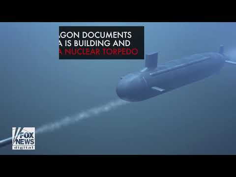 Leaked Pentagon report: Russia is building a 'doomsday' torpedo