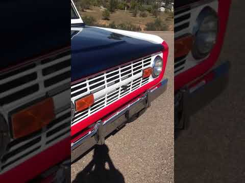 Ford Bronco running