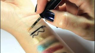 Illamasqua: Precision Ink (swatches + smudge test and water-proof test) Thumbnail