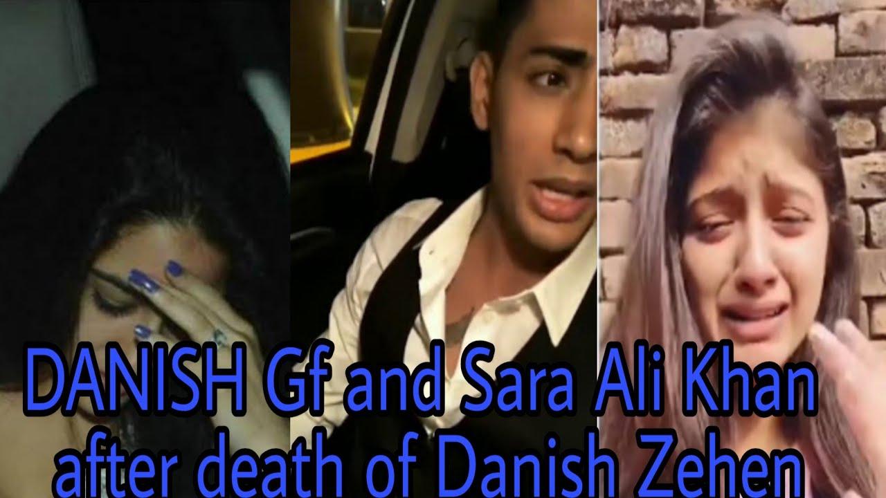 R I P Danish Zehen Gf Sara Ali Khan Reaction On Danish Zehen