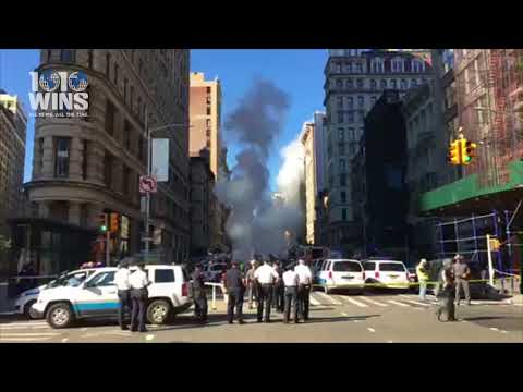 LIVE from Steam Pipe Blast in NYC