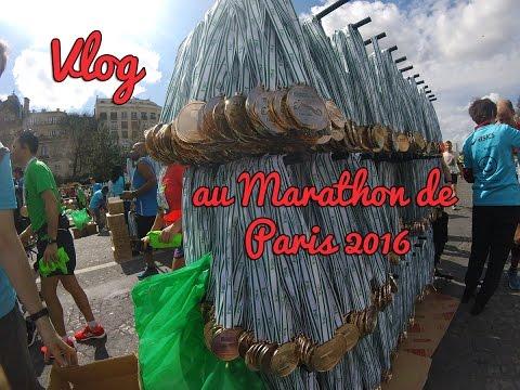 Vlog au Marathon de Paris 2016 : médaille, derniers km...