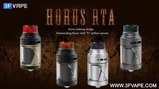 """Vapefly  Horus RTA - No leakage/Unique """"b"""" airflow system"""