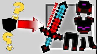 Minecraft Đảo Lộn #4 : Gỗ Chế Tạo Ra Thanh Kiếm 8000 Sức Tấn Công ??