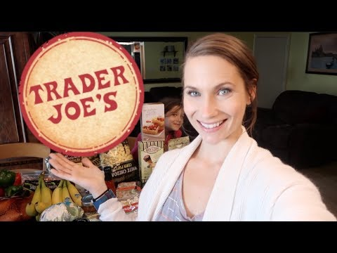 TRADER JOES Grocery Haul! Bought It ALL! No Regrets, SO Good.