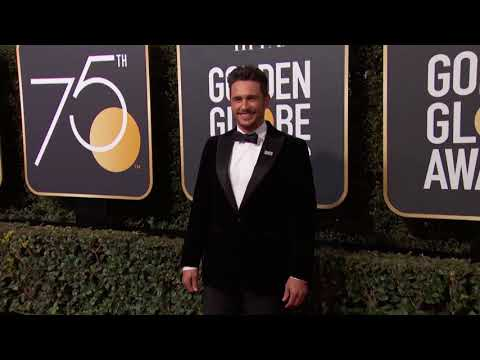 James Franco Golden Globe Awards Fashion Arrivals (2018)