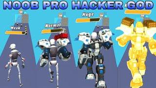 NOOB vs PRO vs HACKER vs GOD - Robot Rush