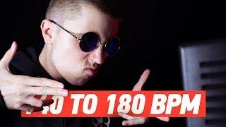140 TO 180 BPM
