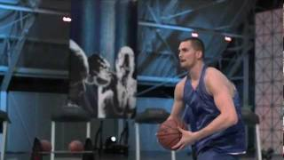 Repeat youtube video Sport Science: Kevin Love - World Record Shot