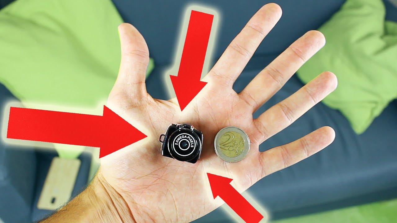 le plus petit appareil photo du monde plus petit que 2 youtube. Black Bedroom Furniture Sets. Home Design Ideas