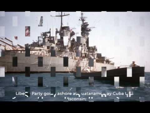 USS Wisconsin 1950