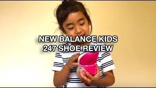 NEW BALANCE KIDS 247 SNEAKER UNBOX & REVIEW