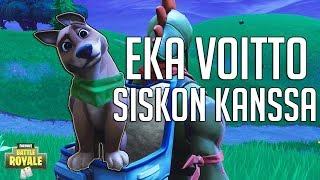 EKA VOITTO ISOSISKON KANSSA! | Fortnite Battle Royale Suomi