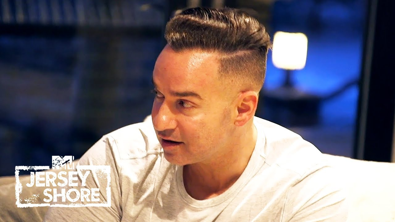 Mike Tells Nicole About Angelina   Jersey Shore: Family Vacation