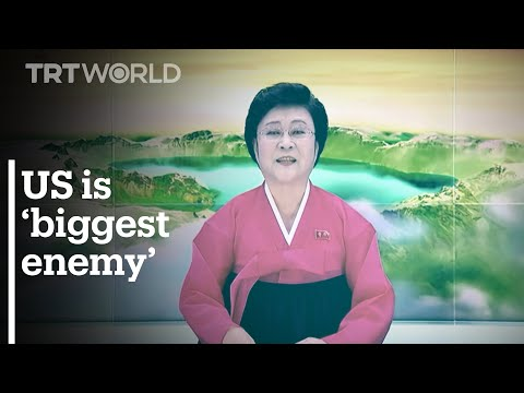 Kim Jong-un calls the US his country's biggest enemy