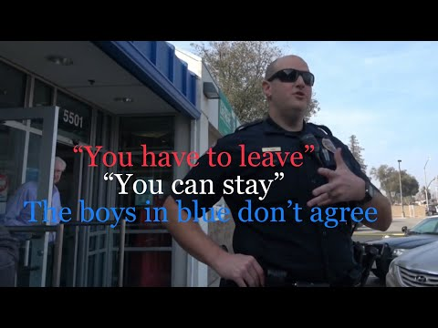 "USPS First Amendment Audit - ""You have to leave"" ""You can stay"" What? P O L I C E  don't agree"