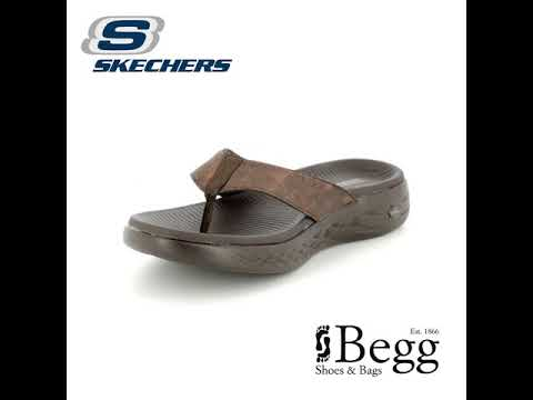 abf7d183784c Skechers Seaport 55352 CHOC Chocolate brown sandals - YouTube