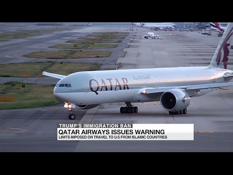 Trump's immigration ban: Qatar Airways issues warning