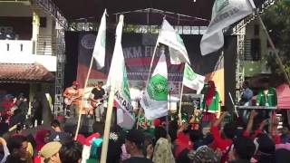 UKM fire pbak 2017 IAIN SURAKARTA bersama UKM JQH Al-Wustho IAIN SURAKARTA