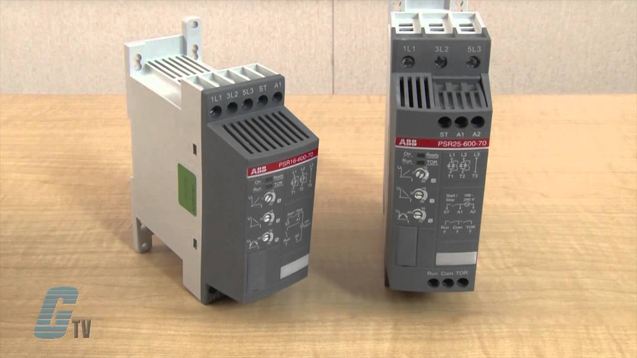 ABB PSR Series Soft Starters  A GalcoTV Overview  YouTube