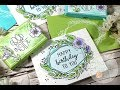 Neat & Tangled Floral Frame Cards & Gift Card Boxes