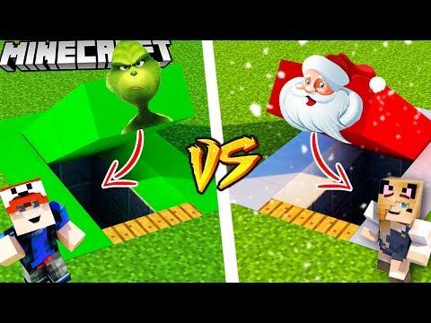 MINECRAFT - SEKRETNA BAZA! (GRINCH vs MIKOŁAJ) | Vito vs Bella thumbnail