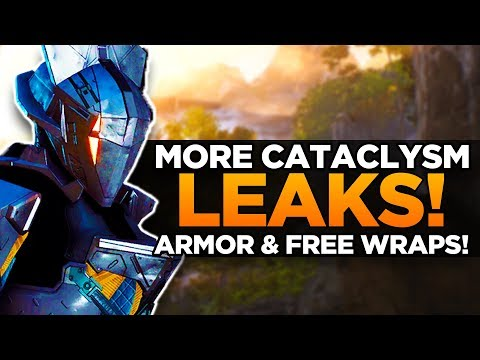 *MORE NEW* Anthem Cataclysm Leaks | More New Armor, Wraps, and Exclusive Materials