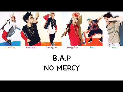 B.A.P - No Mercy (Color coded lyrics Han|Rom|Eng)