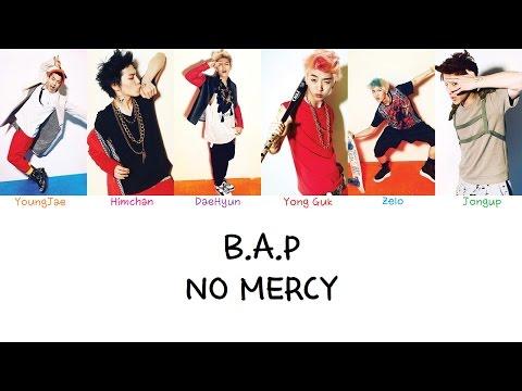 B.A.P - No Mercy (Color Coded Lyrics Han|Rom|Eng)
