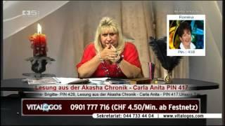 vitalogos vom 03.10.2012 mit Carla Anita