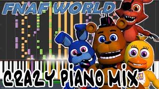 - Crazy Piano Mix Melting Titanium FNAF WORLD Boss Theme