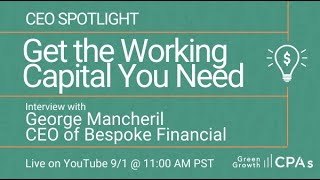 CEO Spotlight – Bespoke Financial CEO George Mancheril