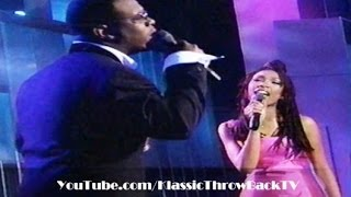 "Brandy & Wanya Morris - ""Brokenhearted"" Live (1996)"