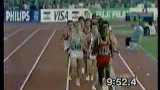 World Championships Rome 1987 men's 5000m Final