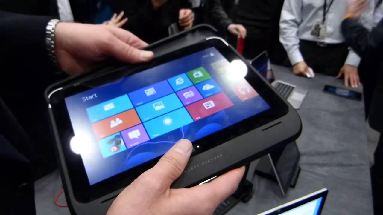 HP Elitepad Smart Jackets Demo - YouTube
