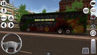 Coach Bus Simulator Bus Tingkat Berfasilitas Mewah | Game Simulator Android