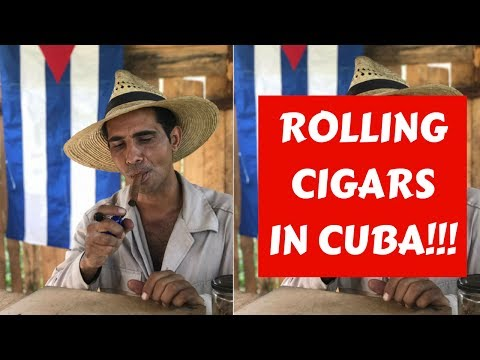 HOW CUBAN CIGARS ARE MADE || IN VINALES, CUBA!