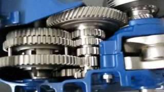Vespa PX80 Schnittmotor Video1